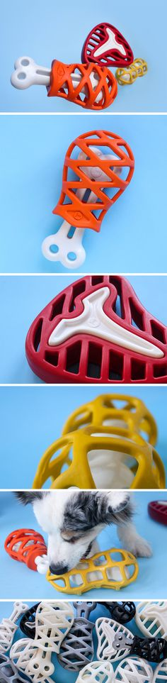 Easily the most fail-proof pet toys ever, the JW Dog Toys are GUARANTEED to get your pet's attention and keep it entertained. How, you ask? The hollow design of the toys isn't just an aesthetic decision (although it's quite a cute aesthetic)… The design enables you to slide treats into it, making sure your dog stays occupied trying to get the treat out, and as a result, doesn't gnaw at your furniture or rip your favorite pillow to shreds.