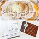 $125 Cash or Amazon Gift Card and $50 Williams Sonoma or Pier 1 Gift Card Giveaway  Open to: United States Canada Other Location Ending on: 10/08/2017 Enter for a chance to win $125 cash or Amazon gift card and a $50 gift card for Williams Sonoma or Pier 1 and a napkin folding book. Enter this Giveaway at Katherines Corner  Enter the $125 Cash or Amazon Gift Card and $50 Williams Sonoma or Pier 1 Gift Card Giveaway on Giveaway Promote.