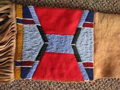 9. PLAINS BEADED RIFLE CASE | eBay Native American Crafts, Native American Beadwork, Native American Fashion, Powwow Regalia, Plains Indians, Case Knives, Craft Art, Crow, Beading