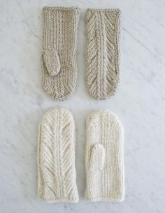 Ancient Stitch Mittens | Purl Soho. Knitting pattern available for free.