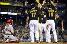 May 9, 2014 — Pirates 6, Cardinals 4 (Photo: Christopher Horner | Tribune-Review)