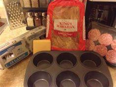 King's Hawaiian Breakfast Slider Recipe