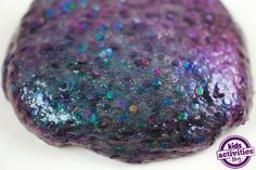 Dragon scale slime is one of our favorite homemade slime recipes. Kids will love creating this colorful and unique slime. The pieces of glitter come together with chameleon-colored powder to create this gorgeous slime that looks just like dragon scales. Dragon Birthday Parties, Dragon Party, 3rd Birthday, Birthday Ideas, Party Activities, Activities For Kids, Crafts For Kids, Slime For Kids, Homemade Slime
