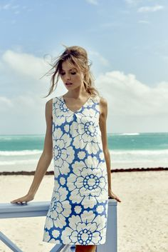 Boden Spring Summer 15 - Love the print! Unsure this style would work on me....
