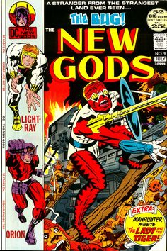 Kirby's New Gods #9