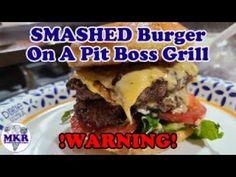 SMASH Burgers On The Pit Boss Pro Series 1100 Pellet Grill !WARNING! Smash Burgers, Smoker Recipes, The Creator, Grilling, Boss, Smoking Recipes, Backen