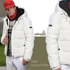 Splendid fashion ανδρικό μπουφάν κοντό Splendid ανδρικό μπουφάν κοντό με ενσωματωμένη κουκούλα -Κλείσιμο με φερμουάρ και πατιλέτα -Χρώματα : Μαύρο, Άσπρο, Κίτρινο -Σύνθεση : 85% Πολυεστέρας, 15% Βαμβάκι -Φόδρα : 100% Πολυεστέρας -Συλλογή : Φθινόπωρο - Χειμώνας Winter Jackets, Social Media, Posts, Collection, Fashion, Winter Coats, Moda, Messages, Winter Vest Outfits