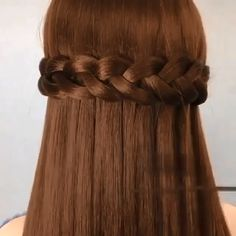 Amazing😍 Amazing😍,Haar ideen Amazing😍 Related posts:Christmas Gift Wrapping Ideas. Easy Hairstyles For Long Hair, Girl Hairstyles, Hairstyles Videos, Braided Hairstyles, Hair Upstyles, Long Hair Video, Grow Long Hair, Light Hair, Hair Videos