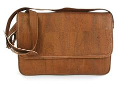 #Laptop #Bag CAMPO GRANDE made of silky smooth #cork #leather | 100% #sustainable and #vegan | CHF 240.00 | free delivery & return within Switzerland