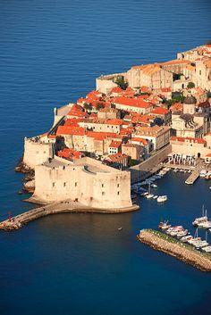 Dubrovnik, Croatia old town port
