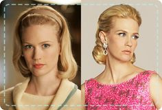 mad men hairstyles women tutorial - Google Search