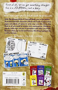 Diary of a wimpy kid box of books 1 4 revised literature amp do it yourself book diary of a wimpy kid solutioingenieria Gallery