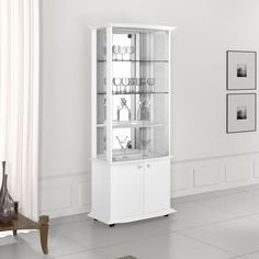 Cristaleira Monalisa Branco 2059