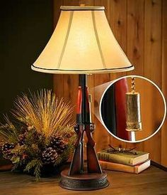 Double Barrel Shotgun Lamp | for Ben | Pinterest | Double barrel ...