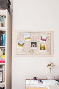Where in the world will life take you next? Map your journey using this DIY project. » See more now on the Polaroid blog.