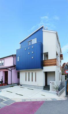ありそうでないネイビーブルーとナチュラルモダンのW様邸 | 京都乙訓 注文住宅・リノベーション・大型木造建築ならリヴ