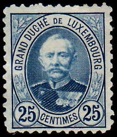Luxembourg 1891-93 25C Perf 11 X11 Fine Used