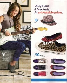 e847d41f54 Here are some ads for the Miley Cyrus   Max Azria clothing line from the  weekly Walmart ad circular.