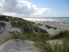 The Bay Denmark. Jammerbugten -Blokhus Beach,  - a car ride along the ocean
