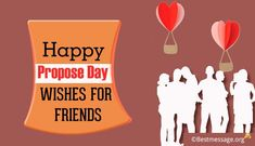Spread love and joy with beautiful Propose Day wishes for friends. Share Propose Day text messages and greetings for best friends in Hindi and English on social media. Propose Day Messages, Happy Propose Day Wishes, Wishes For Husband, Wishes For Friends, Wishes Messages, Text Messages, Proposal Quotes, Spread Love, Feelings