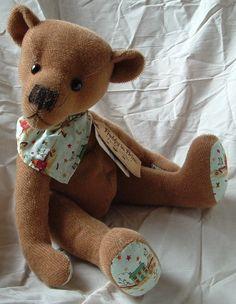 16 Prim Jim ~ a BIGGER Prim / Primitve Teddy Bear ePattern!
