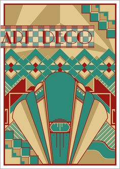Free-Awesome-Art-Deco-Painitng-for-Wall.jpg (585×826)