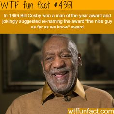 Cosby was a compulsive with a biting sense of humor. He couldn't help but allude to his dark side. Wtf Fun Facts, True Facts, Funny Facts, Random Facts, Fact Of The Day, Wtf Moments, Mind Blowing Facts, The More You Know, New Perspective