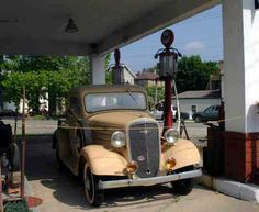 Old Gas Station