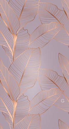 Gold Wallpaper Background, Rose Gold Wallpaper, Flowery Wallpaper, Flower Phone Wallpaper, Framed Wallpaper, Aesthetic Pastel Wallpaper, Cute Wallpaper Backgrounds, Pretty Wallpapers, Colorful Wallpaper