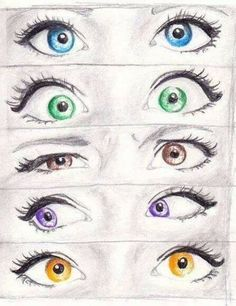 Cute drawings of eyes. I want to work on drawing better eyes. maybe well probably not as good as these but better at eyes and other drawings Amazing Drawings, Love Drawings, Amazing Art, Art Drawings, Awesome, Realistic Eye Drawing, Drawing Eyes, Ball Drawing, Eye Art
