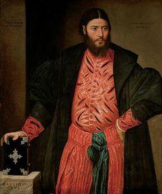 Bernardino Licinio(1489–1565)Portrait of Ottaviano Grimani, Procurator of San MarcoDate1541MediumoilCurrent location  Kunsthistorisches Museum