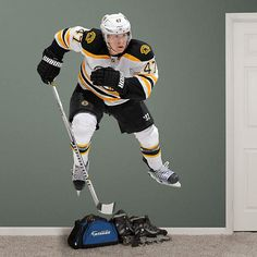 Torey Krug Torey Krug REAL.BIG. Fathead Wall Graphic | Boston Bruins Wall Decal | Sports Home Decor | Hockey Bedroom/Man Cave/Nursery