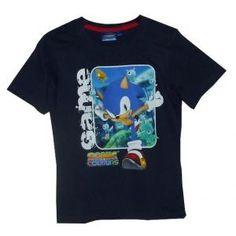 Tee-shirt Sonic Colours – manches courtes - bleu marine