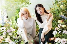 191105 Oh My Girl's Arin & Jiho photoshoot by Naver x Dispatch. Oh My Girl Jiho, Arin Oh My Girl, Flower Shower, Girl Falling, Music Awards, Hd Photos, Kpop Girls, Flower Girl Dresses, Celebs