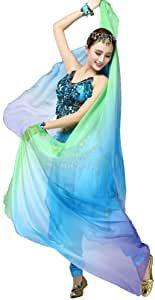 Mata Hari war der Künstlername der niederländischen Tänzerin Margaretha Geertruida Zelle. Als Spionin für den deutschen Geheimdienst führte sie den Decknamen H 21 – Mag 2020 Mata Hari, Olympia, Belly Dance Scarf, Gradient Color, Burlesque, Veil, Purple, Blue, Shawl