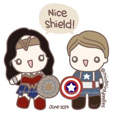 Cap and Wonder Woman would have been BFFs