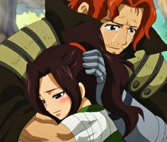 Cana tells gildarts she's her daughter