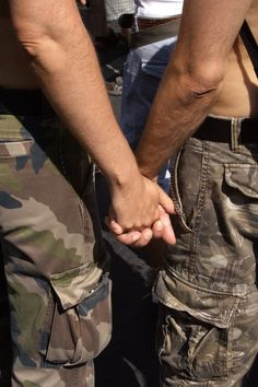 Gay military couple :)