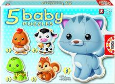 Babypussel med djur 90:-