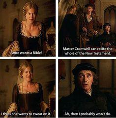 Mary Boleyn, Anne Boleyn Tudors, Wolf Hall, Tudor Fashion, Dry Humor, Commonplace Book, Anna Karenina, Jane Seymour, Playwright