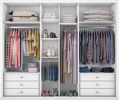 closet layout 505810601901369389 - Trendy Bedroom Closet Layout Clothes Source by