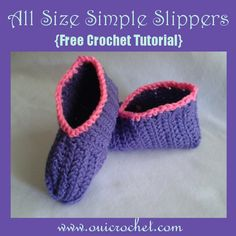 Oui Crochet: Learn to Crochet: Part 1- Getting Started {Crochet Along ...