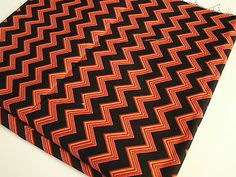 Red-amp-Black-Chevron-Fabric-Remnant-Doll-Clothes-Fabric-Bows-DIY-Craft-Sewing