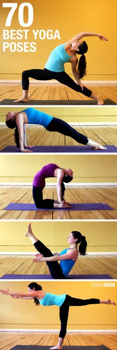 Great yoga poses