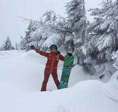 Тут и слова будут лишними .. потрясающий #freeride с Вершины Карпат! #snowboarding #wintersports #winter #active #move #dragobrat #sport #fun #dnepr #ukraine