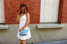 A special shoutout to Maude with the cute .Kate Lee MAEVA style in sky blue !   #katelee #bag @Stheels