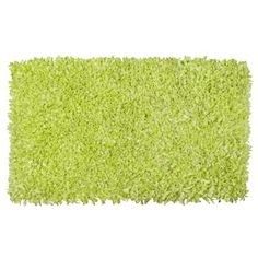 Jersey Cotton Shaggy Hand-knotted Light Pink Area Rug x (Green), Size x