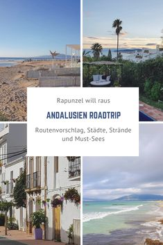 Ein Roadtrip durch Andalusien - New Ideas Europa Camping, Places To Travel, Places To See, Andalusia Spain, Reisen In Europa, Cadiz, Spain Travel, Wonderful Places, Beautiful Places