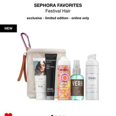 Giftry - The social wish list that helps you get (or give) the gifts you actually want. Favourite Festival, Festival Hair, Sephora, Gift Ideas, Gifts, Presents, Favors, Gift