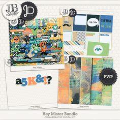 Hey Mister Bundle by JB Studio and Juno Designs